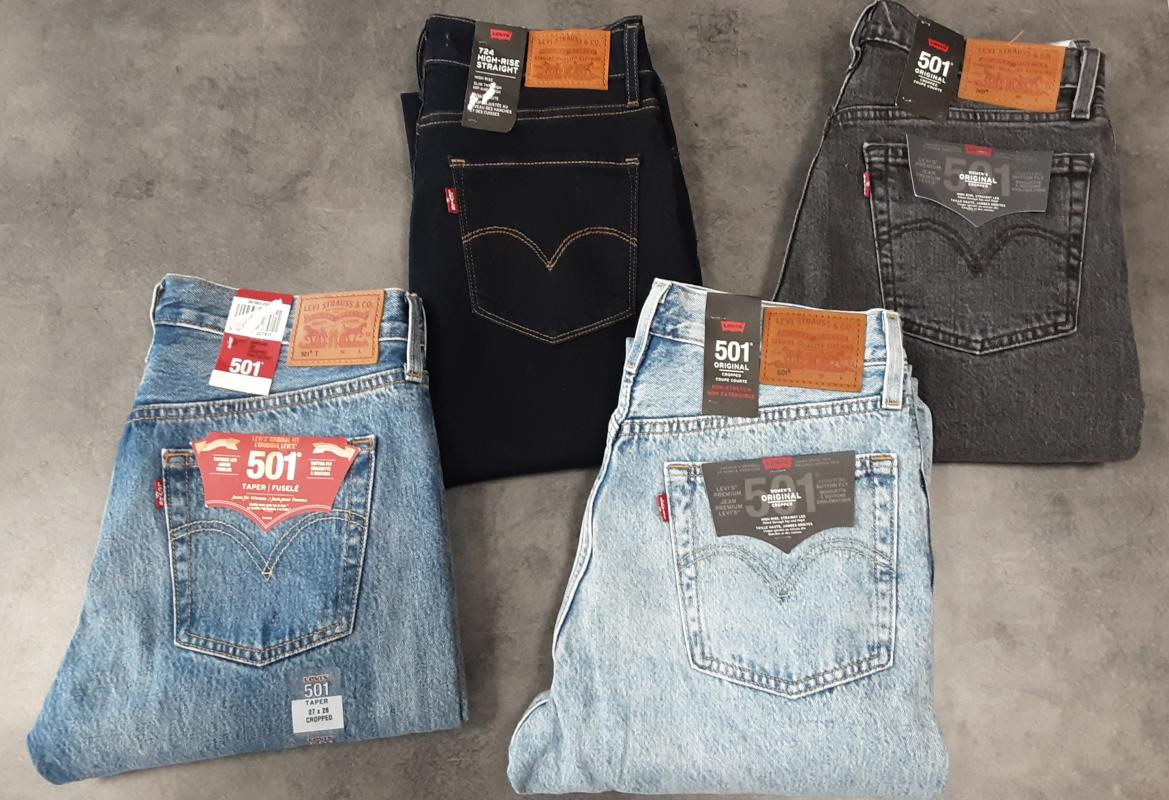 Basket Teddy smith et Jeans Levis